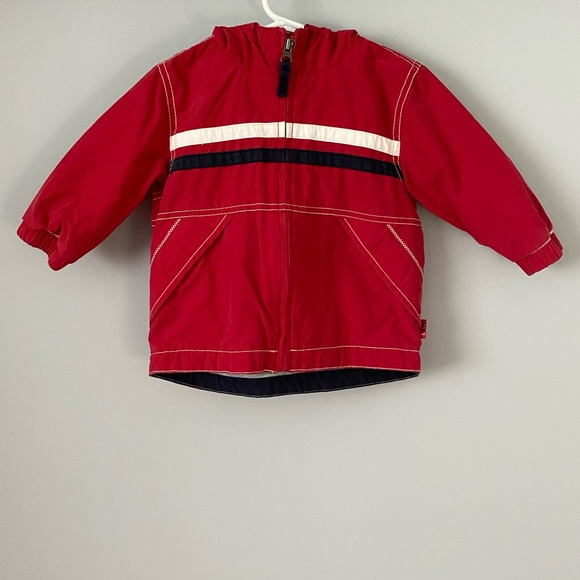GAP Other - Baby Gap Red Jersey Lined Jacket 12-18 months